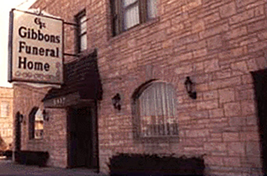 Gibbons Funeral Home - 1974